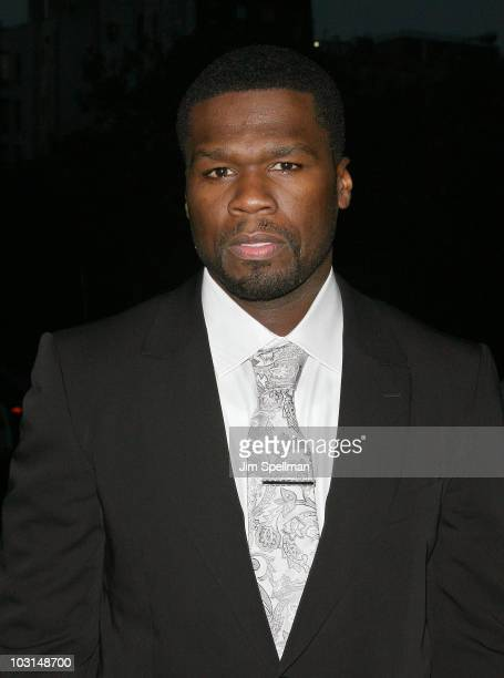 Actor and rapper Curtis Jackson aka 50 Cent attends the Cinema Society 2ist screening of Twelve at Landmark's Sunshine Cinema on July 28 2010 in New...