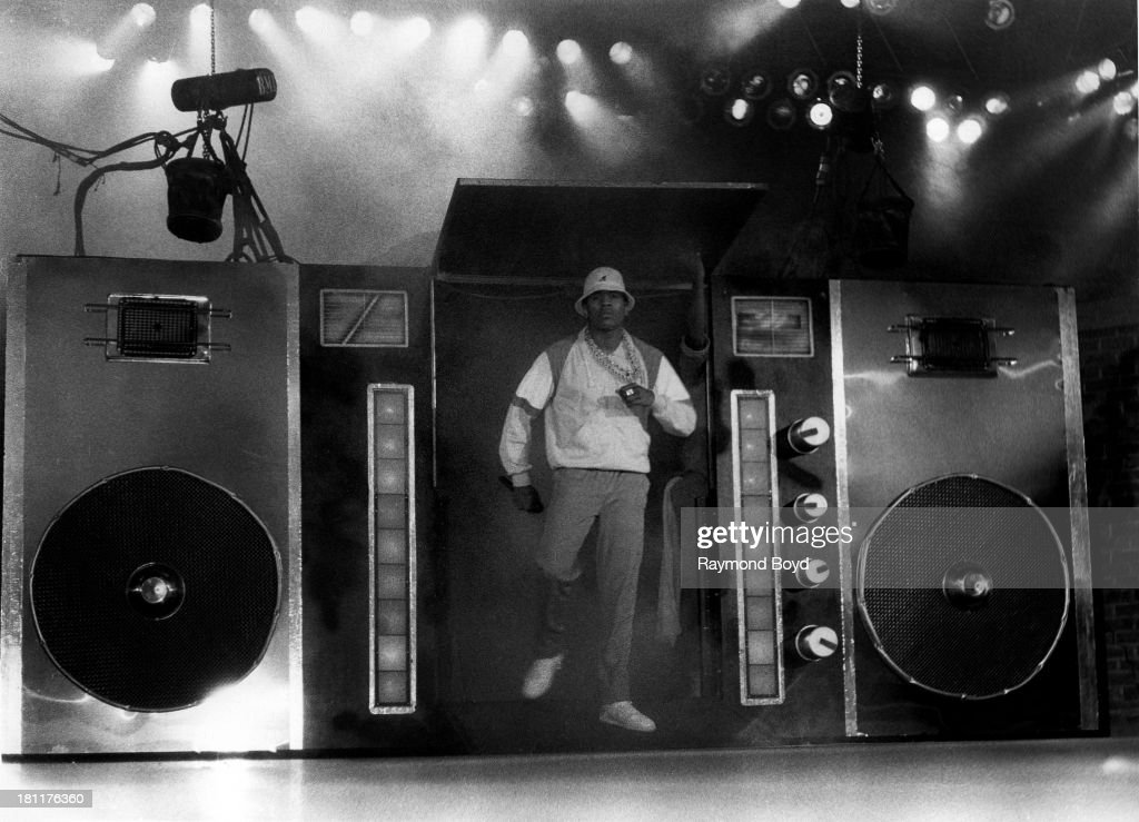 Actor and rapper L.L. Cool J., performs at the U.I.C. Pavilion in Chicago, Illinois in JANUARY