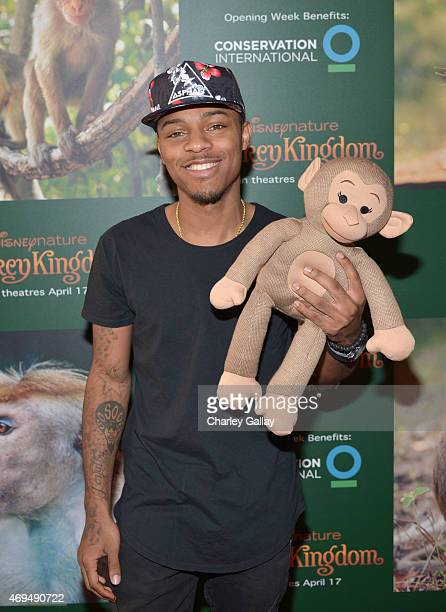 Actor and rapper Shad Gregory Moss attends the world premiere Of Disney's Monkey Kingdom at Pacific Theatres at The Grove on April 12 2015 in Los...