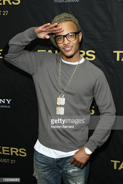 Actor and recording artist Tip 'TI' Harris attends a special screening of 'Takers' at the Regal EWalk on August 15 2010 in New York City