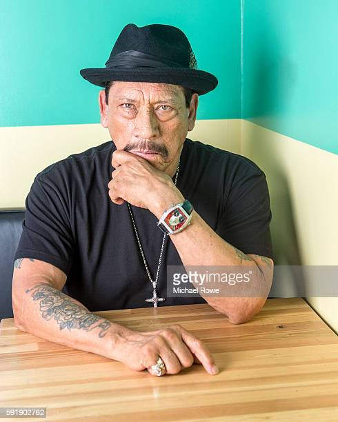 Actor and restaurateur Danny Trejo is photographed for The Wrap on July 25 2016 in Los Angeles California