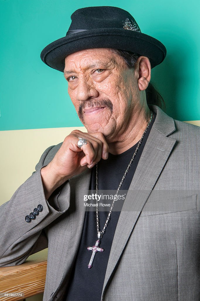 Actor and restaurateur Danny Trejo is photographed for The Wrap on July 25, 2016 in Los Angeles, California.