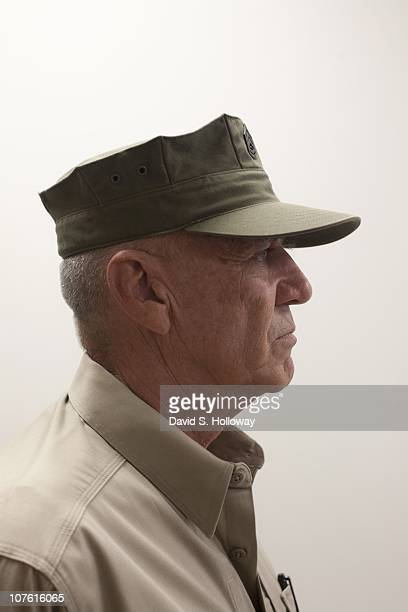 Actor and retired US Marine Corps drill instructor Ronald Lee Ermey on October 29 2007 in Philadelphia Pennsylvania Ermey has often played the roles...