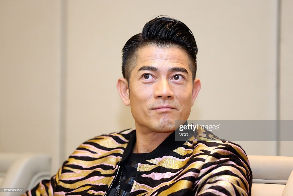 Aaron Kwok Attends Press Conference In Hangzhou