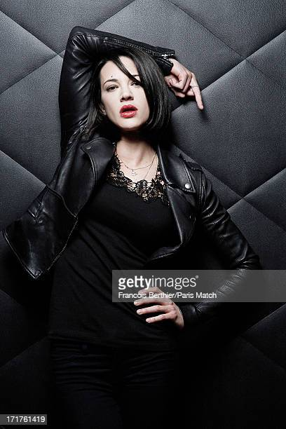 Actor and singer Asia Argento is photographed for Paris Match on May 26 2013 in Paris France