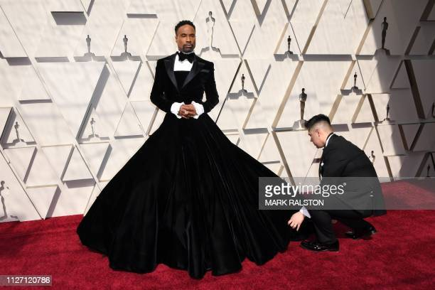 TOPSHOT US actor and singer Billy Porter arrives for the 91st Annual Academy Awards at the Dolby Theatre in Hollywood California on February 24 2019