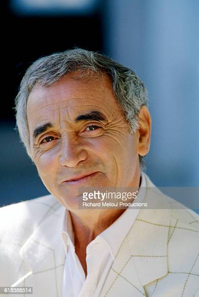 Actor and Singer Charles Aznavour
