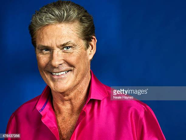 Actor and singer David Hasselhoff is photographed for Event magazine on May 20 2015 in London England