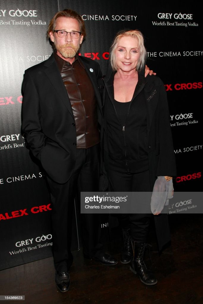 Actor and singer Debbie Harry attend The the Cinema Society & Grey Goose screening of 'Alex Cross' at Tribeca Grand Screening Room on October 18, 2012 in New York City.