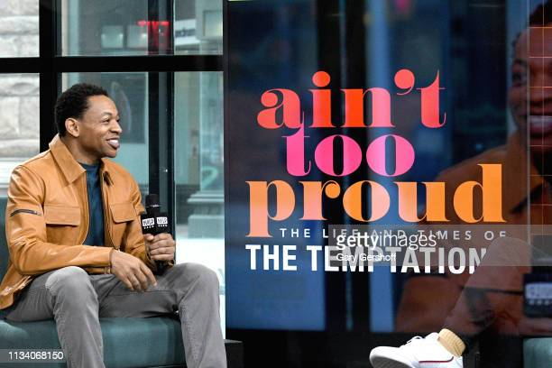 Actor and singer Derrick Baskin visits the Build Series to discuss the Broadway show 'Ain't Too Proud The Life and Times of The Temptations' at Build...