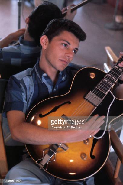 Actor and singer Frankie Avalon poses for a portrait in 1959 in Los Angeles California