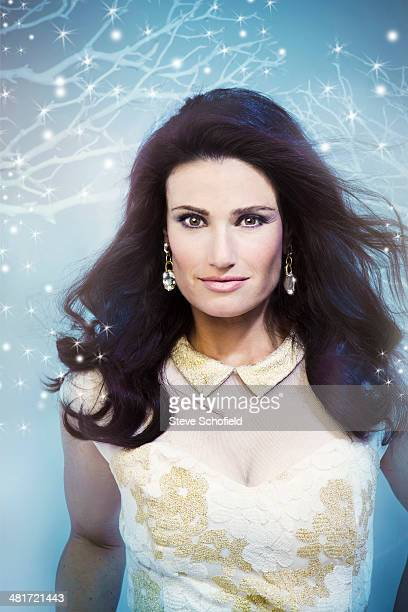 Actor and singer Idina Menzel is photographed for You magazine on October 14 2013 in New York City
