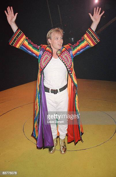 Actor and singer Jason Donovan stars in 'Joseph and the Amazing Technicolor Dreamcoat', 5th October 1992.