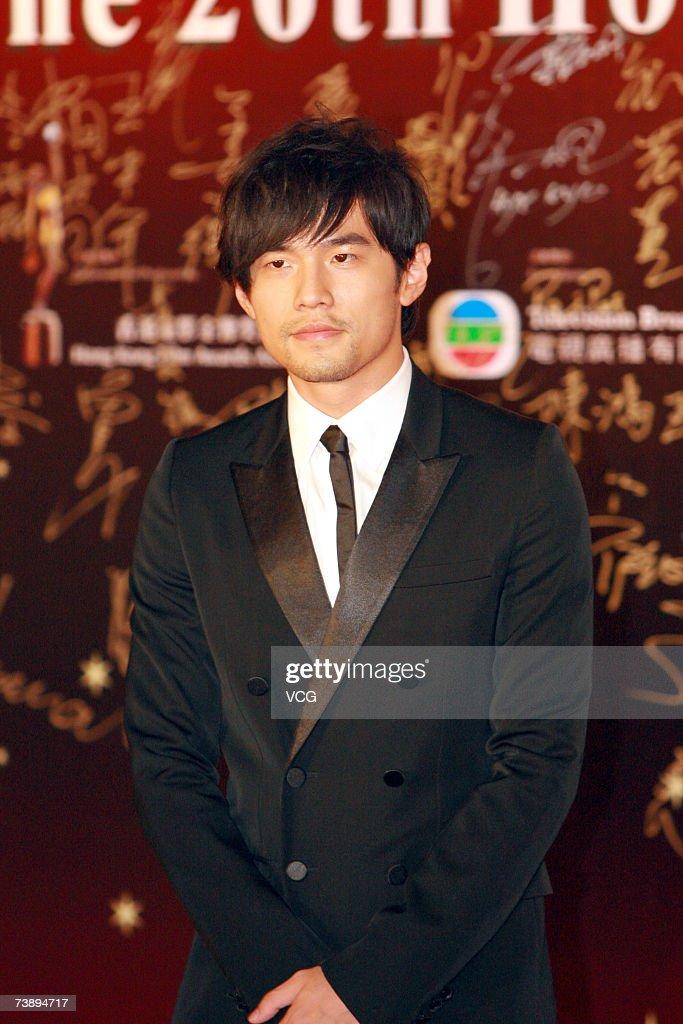 Actor and singer Jay Chou arrive at the 26th Hong Kong Film Awards at the Hong Kong Cultural Centre on April 15, 2007 in Hong Kong, China.