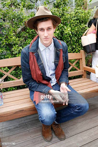 Actor and Singer JeanBaptiste Maunier attends the 2015 Roland Garros French Tennis Open Day Eleven on June 3 2015 in Paris France