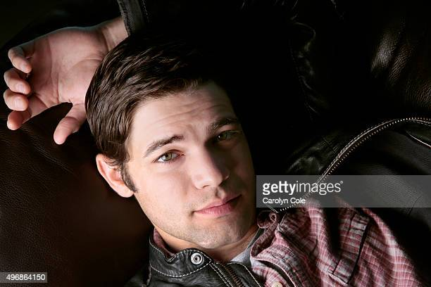 Actor and singer Jeremy Jordan is photographed for Los Angeles Times on April 24 2014 in Weehawken New Jersey PUBLISHED IMAGE CREDIT MUST BE Carolyn...