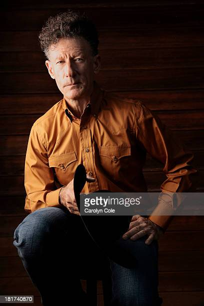 Actor and singer Lyle Lovett is photographed for Los Angeles Times on August 29 2013 in Vienna Virginia PUBLISHED IMAGE CREDIT MUST BE Carolyn...