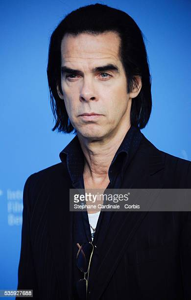 Actor and singer Nick Cave attends the '20.000 Days on Earth' photocall during 64th Berlinale International Film Festival at Grand Hyatt Hotel, in...