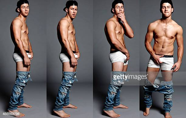 Actor and singer Nick Jonas is photographed for Flaunt Magazine on September 13 2014 in Los Angeles California PUBLISHED IMAGE