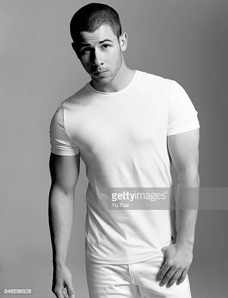 Actor and singer Nick Jonas is photographed for Harper's Bazaar Singapore Man on February 22 2016 in Los Angeles California
