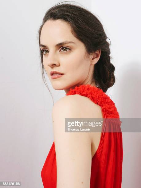 Actor and singer Noemie Merlant is photographed on April 12 2017 in Paris France