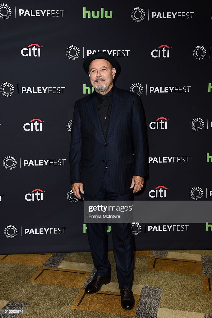 Actor and singer Ruben Blades arrives at The Paley Center For Media's 33rd Annual PaleyFest Los Angeles presentation of 'Fear The Walking Dead' at Dolby Theatre on March 19, 2016 in Hollywood, California.