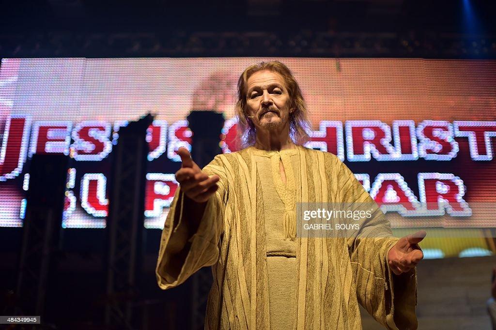 ITALY-MUSIC-JESUS-SUPERSTAR : News Photo