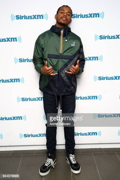 Actor and singer Trevor Jackson visits the SiriusXM Studios on April 10 2018 in New York City