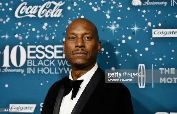Actor and singer Tyrese Gibson arrives at the Essence 10th Annual Black Women in Hollywood Awards Gala at the Beverly Wilshire Four Seasons Hotel on...