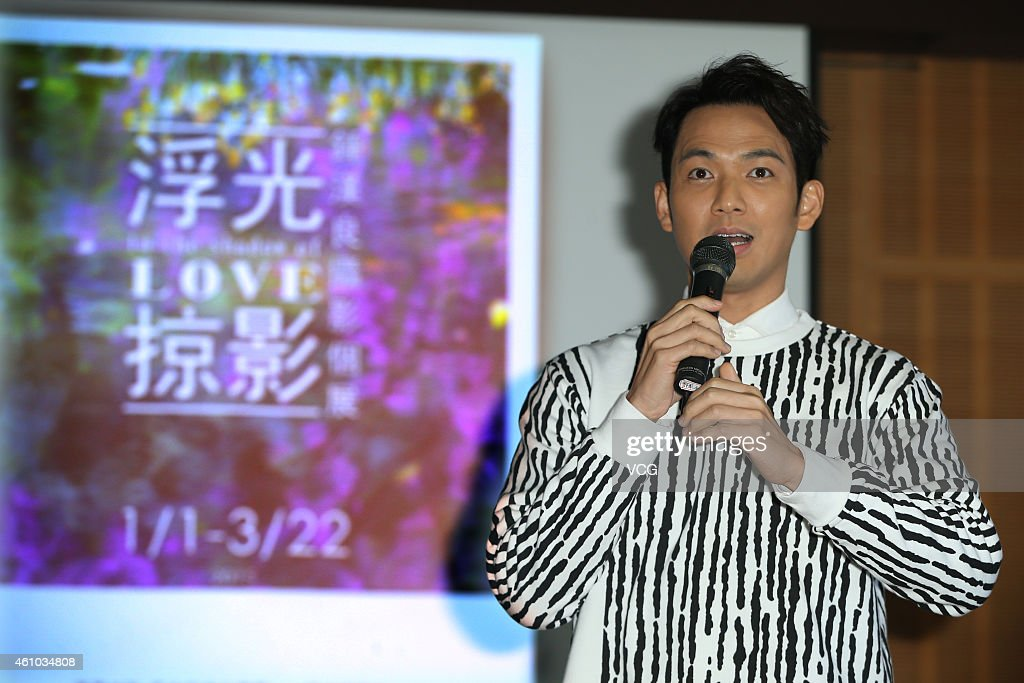 Actor And Singer Wallace Chung Visits Taipei