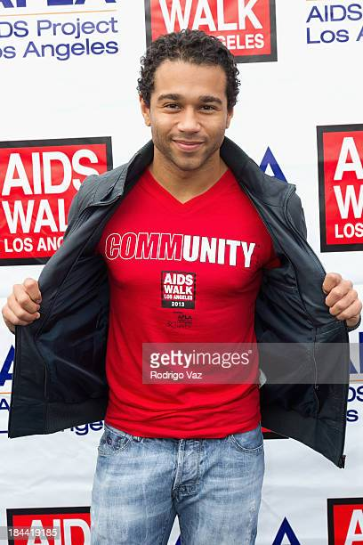 Actor and singer/songwriter Corbin Bleu attends the 29th Annual AIDS Walk LA on October 13 2013 in West Hollywood California