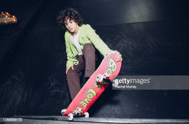 Actor and skate enthusiast, Jack Dylan Grazer puts milk 'on deck and down the halfpipe' as he joins the California Milk Processor Board and Feeding...