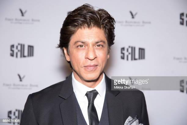 Actor and tribute recipient Shah Rukh Khan arrives at Tribute to Shah Rukh Khan at 60th San Francisco Intenational Film Festival at Castro Theatre on...