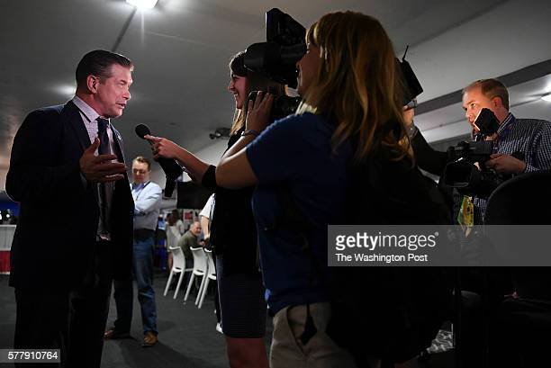 Actor and Trump supporter Stephen Baldwin interviews with The Daily Caller as he makes his rounds for interviews with a variety of media outlets at...