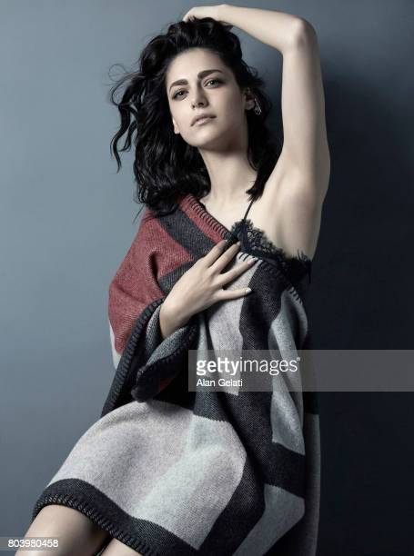 Actor and tv personality Miriam Leone is photographed for Vanity Fair on August 31 2015 in Milan Italy