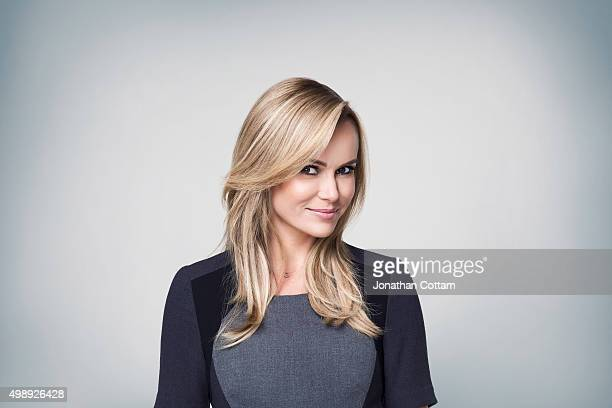 Actor and tv presenter Amanda Holden is photographed on September 24 2014 in London England