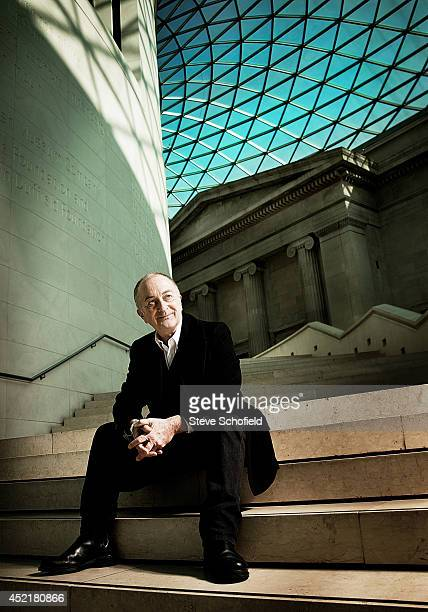 Actor and tv presenter Tony Robinson is photographed for the Sunday Times magazine on March 1 2010 in London England