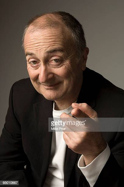 Actor and TV presenter Tony Robinson poses for a studio portrait session in 2007 in London