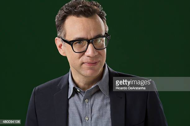 Actor and writer Fred Armisen is photographed for Los Angeles Times on June 3 2015 in Los Angeles CaliforniaPUBLISHED IMAGE CREDIT MUST READ Ricardo...