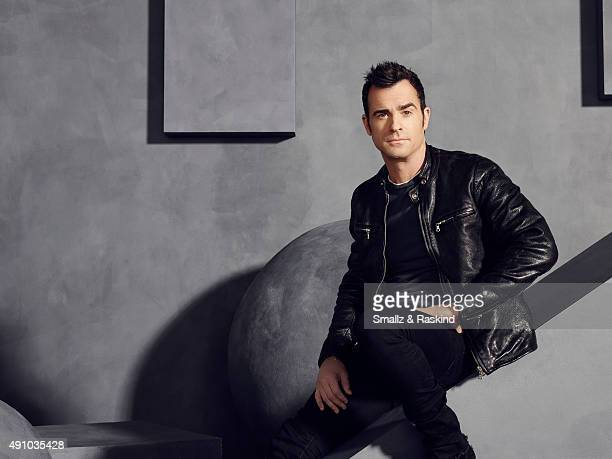 Actor and writer Justin Theroux is photographed for The Hollywood Reporter on May 31 2015 in Los Angeles California