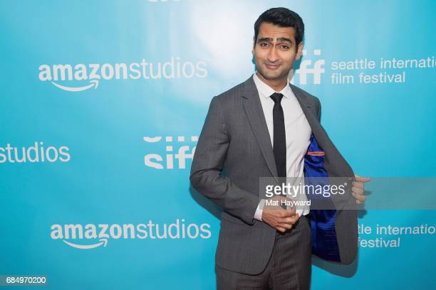Actor and Writer Kumail Nanjiani attends the 43rd Seattle International Film Festival Opening Night at McCaw Hall on May 18 2017 in Seattle Washington