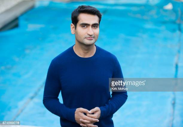 Actor and writer Kumail Nanjiani is photographed for Los Angeles Times on April 21 2017 in Los Angeles California PUBLISHED IMAGE CREDIT MUST READ...