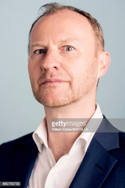 Actor and writer Mark Gatiss of BBC's 'Sherlock' poses for a portrait BBC America BAFTA Los Angeles TV Tea Party 2017 at the The Beverly Hilton Hotel...