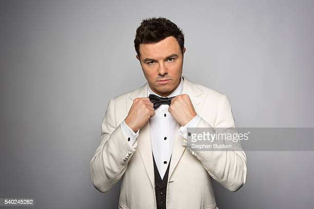 Actor and writer Seth Macfarlane is photographed for the Emmy Facebook Page on December 18 2012 in Hollywood California