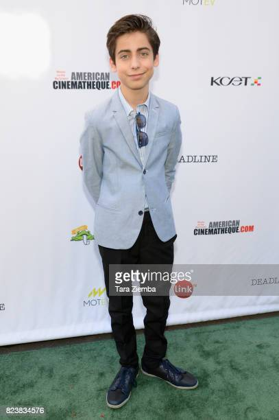 Actor and youth ambassador Aidan Gallagher attends Earth Focus Environmental Film Festival screening of Paramount Pictures' 'An Inconvenient Sequel'...