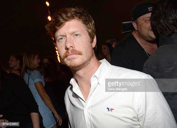 Actor Anders Holm attends Entertainment Weekly's ComicCon Bash held at Float Hard Rock Hotel San Diego on July 24 2016 in San Diego California...
