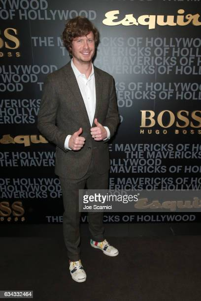 Actor Anders Holm attends Esquire's celebration of March cover star James Corden and the Mavericks of Hollywood presented by Hugo Boss at Sunset...