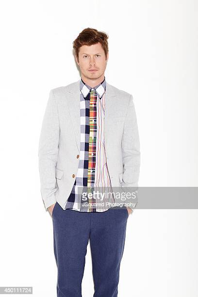 Actor Anders Holm is photographed for Bello on January 10 2014 in Los Angeles California PUBLISHED IMAGE