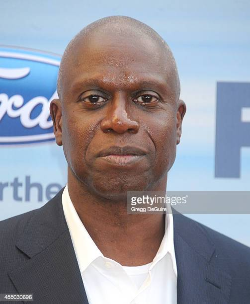 Actor Andre Braugher arrives at the 2014 FOX Fall EcoCasino Party at The Bungalow on September 8 2014 in Santa Monica California