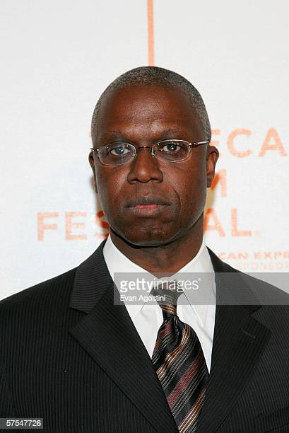 """Actor Andre Braugher attends the """"Poseidon"""" premiere at the Tribeca Performing Arts Center May 6, 2006 in New York City."""